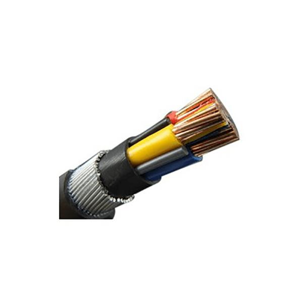 کابل برق آرموردار XLPE دما بالا برند سیمیا سایز 35*2