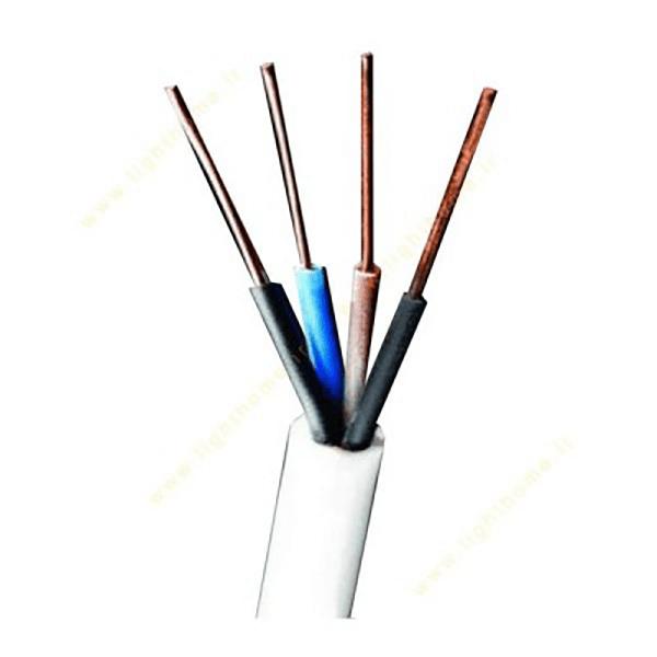 کابل برق شیلدار برند البرز سایز 1*2